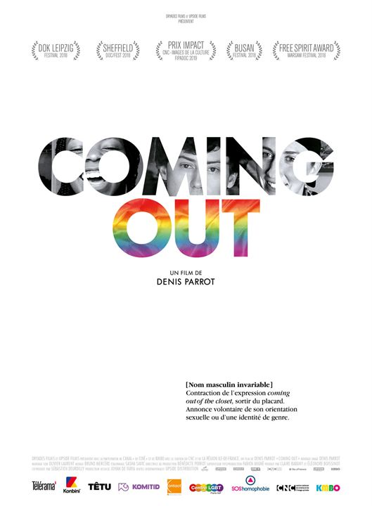 Affiche du documentaire Coming Out