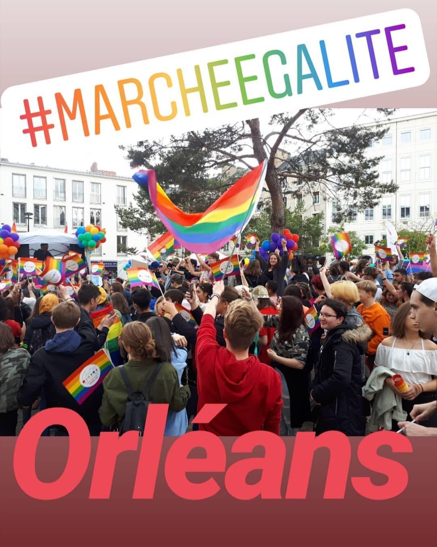 marche pour l'égalité 18 mai 2019 à Orléans